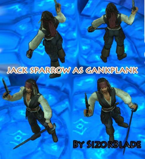 Jack Sparrow Gankplank by SizorBlade