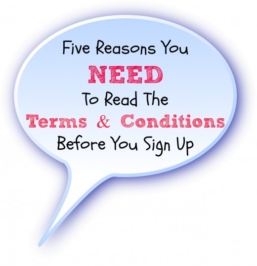 Why you must read the terms and conditions or risk losing your page.