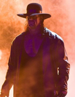 The Undertaker is one of the best known WWE wrestlers in the world. He is also known as the Dead Man. Have you ever seen the thing he does with his eyes.