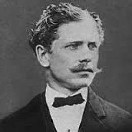 The writer Ambrose Bierce.