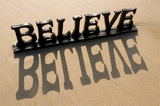 The work is to believe