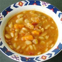Butter Bean and Ham Soup