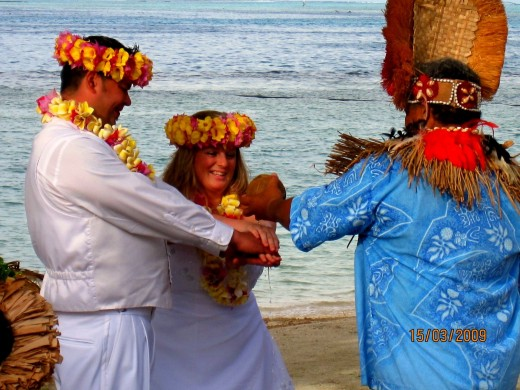 Wedding In Bora Bora