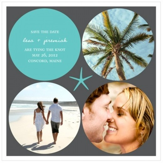 Save The Date Cards For Destination Wedding