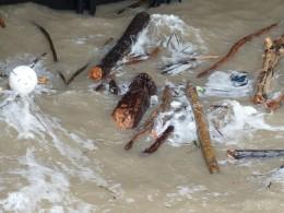 Floating garbage scrap