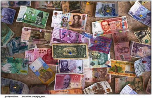 Money from around the world