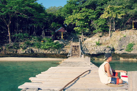 Arriving at Children's Island