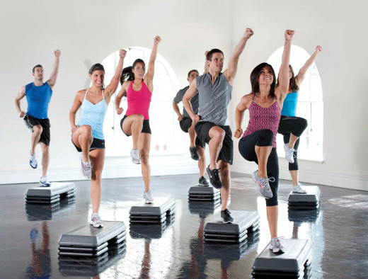 Working out in groups and with music is a great way to be motivated and to do cardio workouts for maximum weight loss.