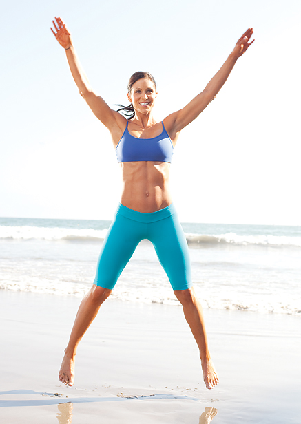 For maximum weight loss, do a variety of high impact cardio exercises such as those that require jumping and squatting.