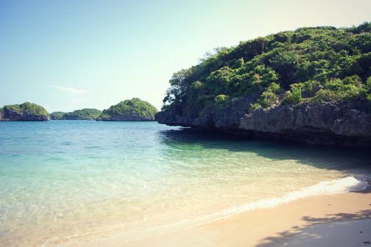 Marcos Island beach