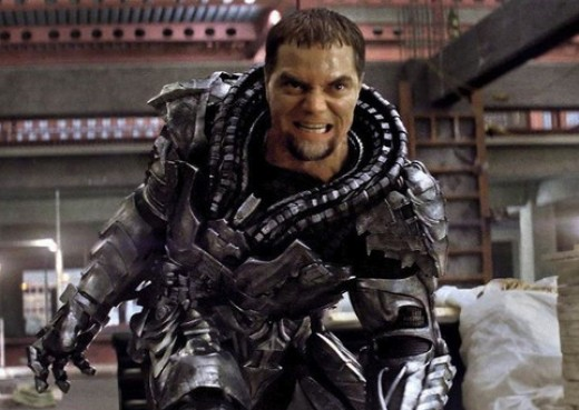 General Zod before discarding his armor.
