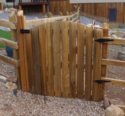 How to Build a Yard Fence Gate