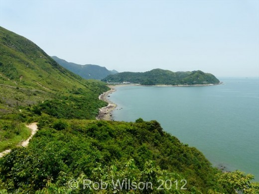 View from the Tung Chung to Tai O trail.