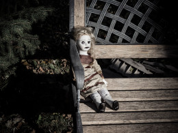 Scary Doll Stories Don't Get Much Better Than An Image Like This!