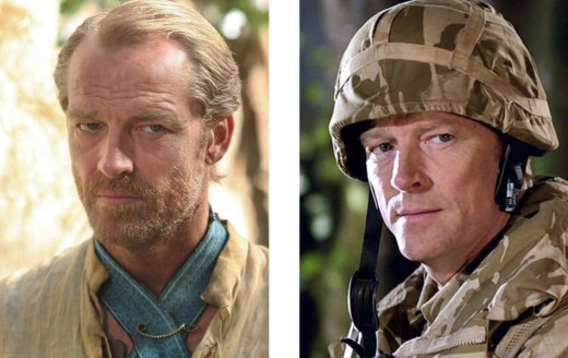 Iain Glen in Game of Thrones and Doctor Who
