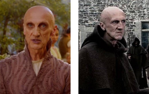 Ian Hanmore in Game of Thrones and Doctor Who