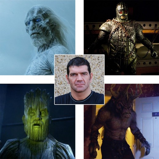 Spencer Wilding in Game of Thrones and Doctor Who