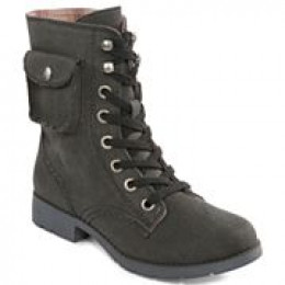 Military short, black or tan  mens' boot