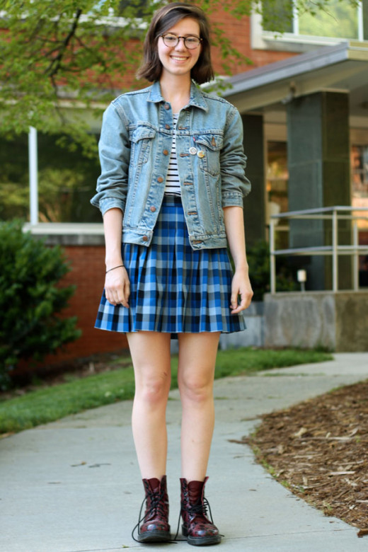 Classic College Look: on a budget!