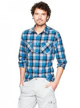 Classic Plaid shirt , cozy dressed down look.
