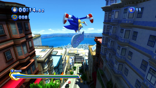 The levels are full of life and the graphics engine really brings out the colour in classic Sonic games.