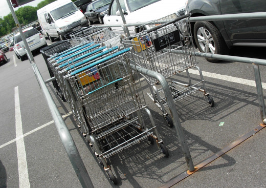Please return your carts to the cart corral