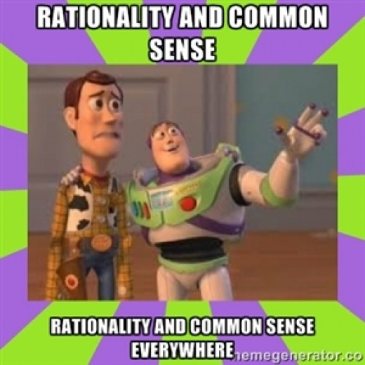 Listen to me, I have better rationality than you.