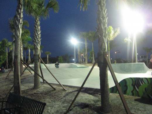 Riverwalk skate park