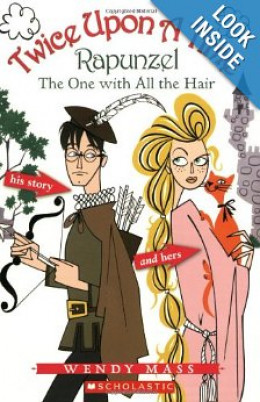 Rapunzel, the One With all the Hair (Twice Upon a Time #1) by Wendy Mass. This is the paperback edition