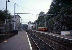 Dinant station looking to the south