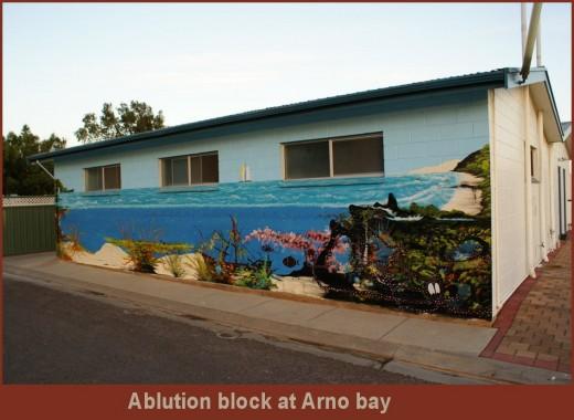 Arno Bay Caravan ablution block