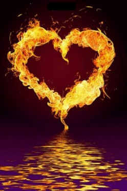 A HEART FIRE IGNITES PASSION AND LOVE - A Woman Knows