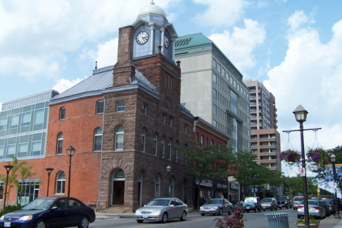The Dominion Building on Queen St. E in Brampton, Ontario
