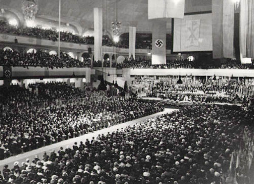 Welcome Celebration for Bishop Konrad Graf von Preysing in the Sportpalast, Berlin, 8 Sept 1935