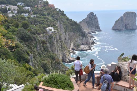 'The Island of Capri' from Tony DeLorger