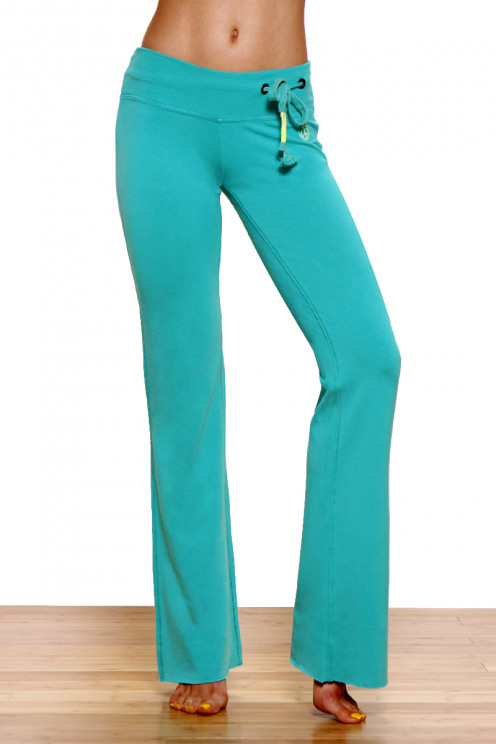 Jeans style lounge fit bamboo yoga pants
