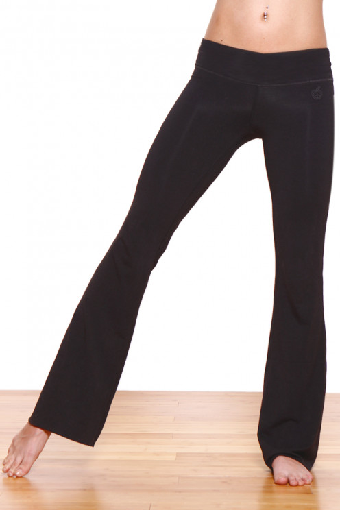 Essential Balance Fitted Flare Yoga Pants