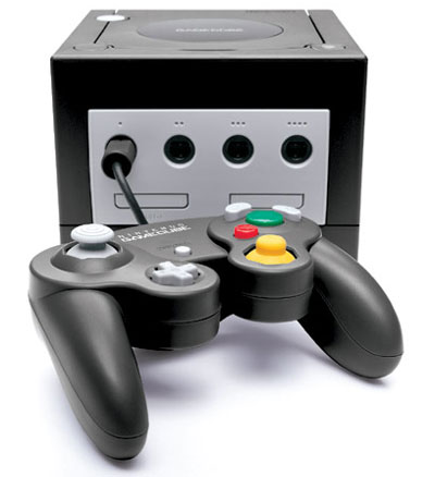 A 'Black' GameCube From Nintendo that was more shades of grey