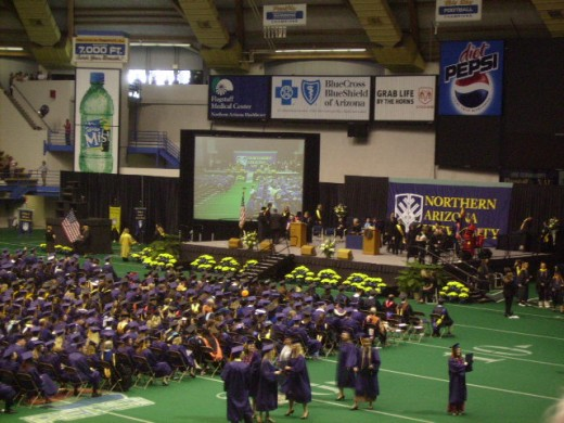 College Graduation Ceremony at Northern Arizona University