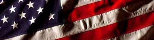 A banner of our Flag The American Symbol of Freedom