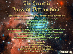 Using The Law of Attraction - 4 Basic Steps
