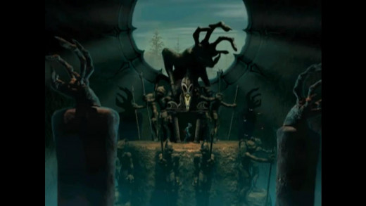 Despite being 2D, Abe's Oddysee made great use of its background design.