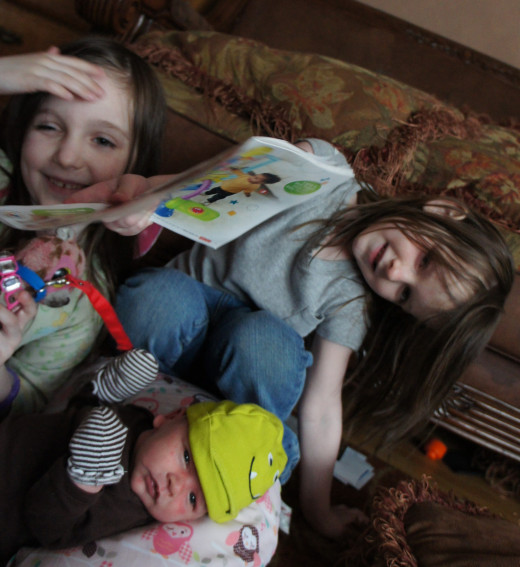 My three reasons for being a stay at home mom.