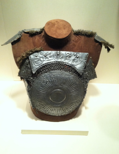 Portions of a Turkish cuirass (Ottoman period, circa 1575)  New York Metropolitan Museum