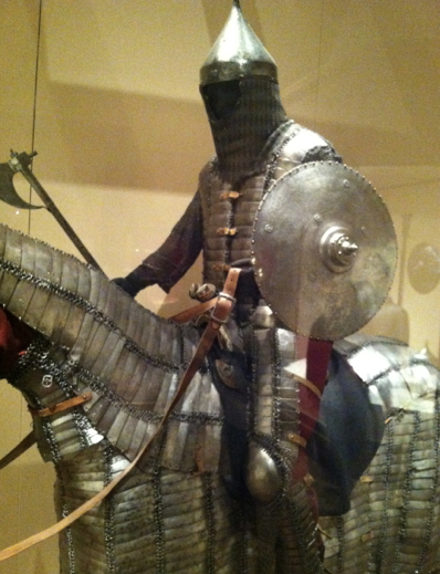Iranian armor from the 15th century.  (New York Metropolitan Museum)