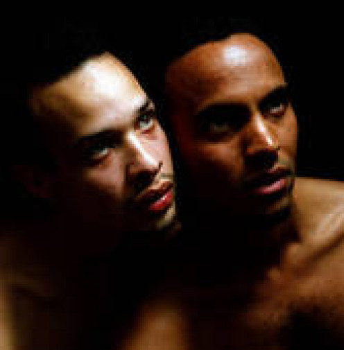 black male couple