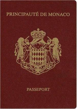 Passport of Monaco