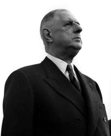 President Charles de Gaulle, Cologne/Bonn Airport, 1961