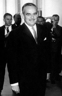 Prince Rainier III of Monaco at the White House, 1961