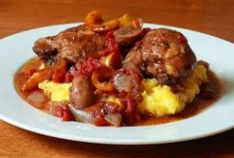 Here we have more delicious chicken cacciatore.